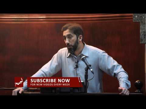 The Prize of Submission to Allah - Khutbah by Nouman Ali Kha