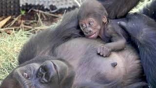 Uzumma with her baby