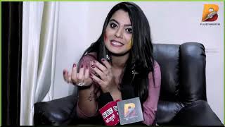 "Exclusive Interview Nidhi Jha "" लूलिया "" Holi Special Planet Bhojpuri"