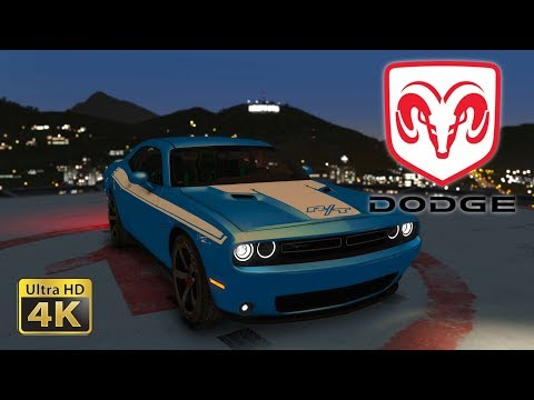 2015 Dodge Challenger SRT 8 - (GTA 5) - [Live Wallpaper]