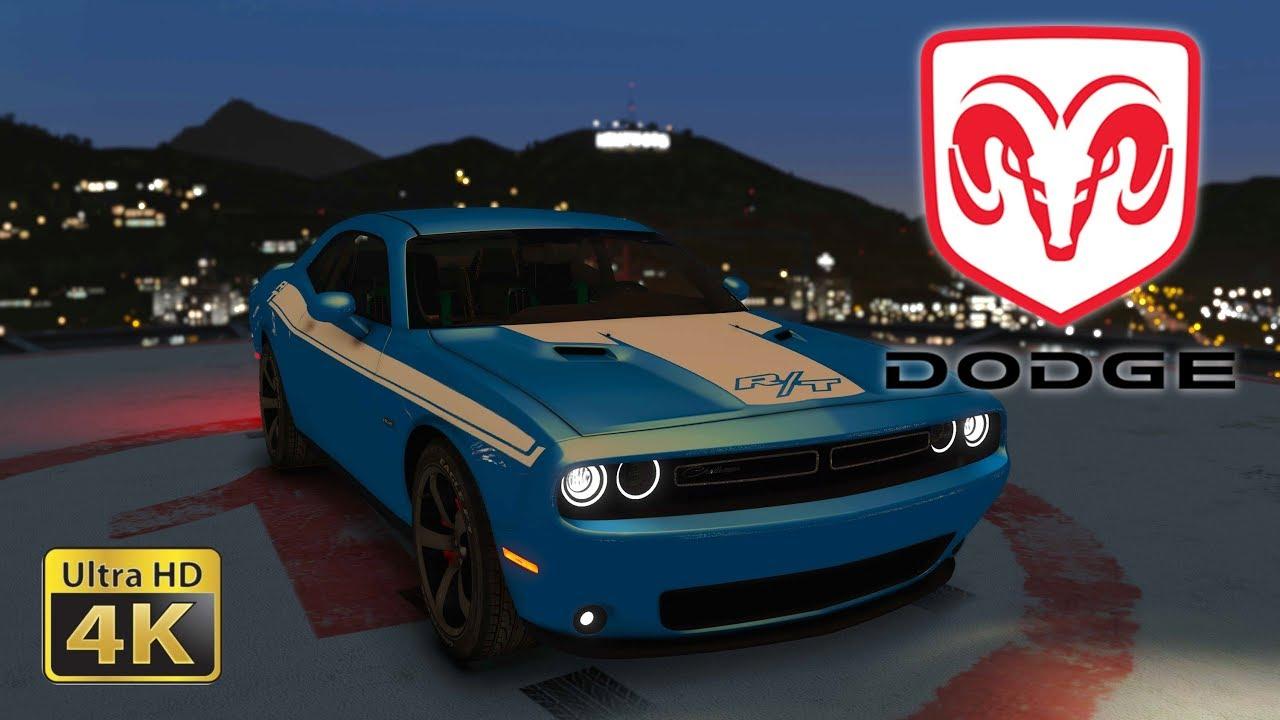 2015 Dodge Challenger Srt 8 Gta 5 Live Wallpaper Youtube