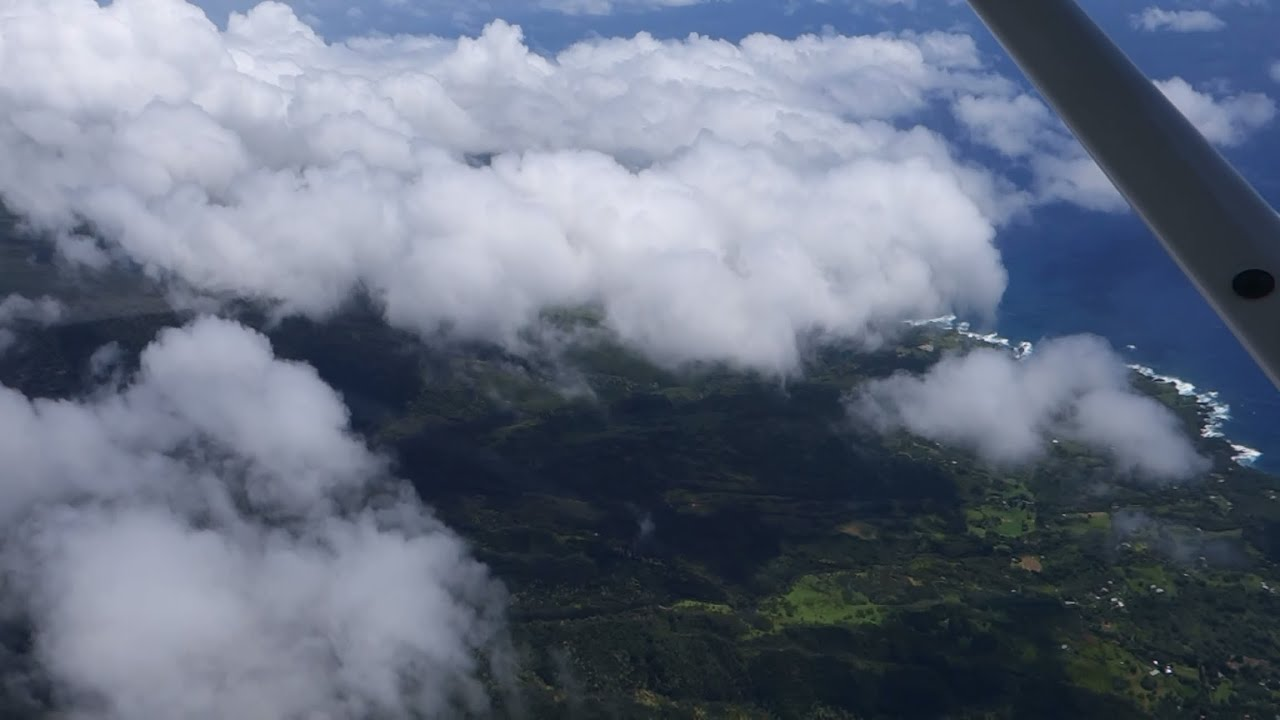Hd haleakala vulcano scenic airplane descent above clouds youtube hd haleakala vulcano scenic airplane descent above clouds publicscrutiny Image collections