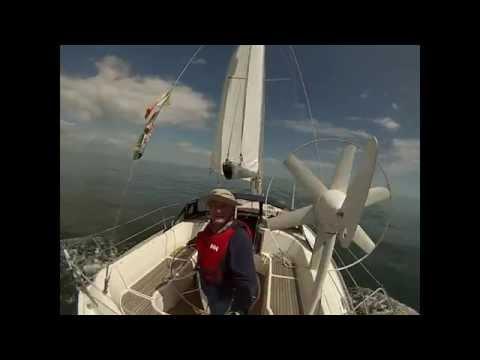 Sailing from Kilmore Quay to Arklow Marina