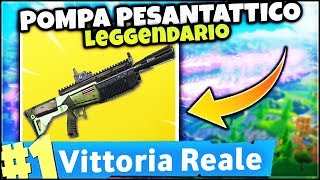 TRY THE POWER OF THE PESANTET POWER ! légendaire! VICTOIRE ROYALE ! FORTNITE ITA PC