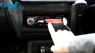 Радіо, MP3-плеєр НПІ Командою 8210, USB, слот SD, передня панель управління, пульт дистанційного керування Презентацією