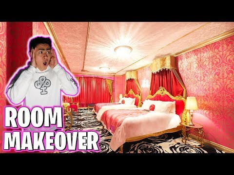 Bedroom Makeover Prank on BROTHERS ROOM!