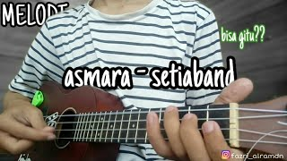 Gambar cover (melodi)  asmara - setia band versi kentrung || cover ukulele by fazri alramdn
