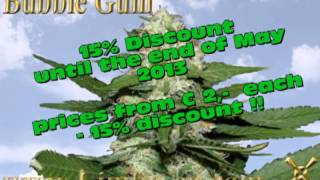 SEEDS DISCOUNT15 % on 24 Different strain Seeds. CODE : 15%