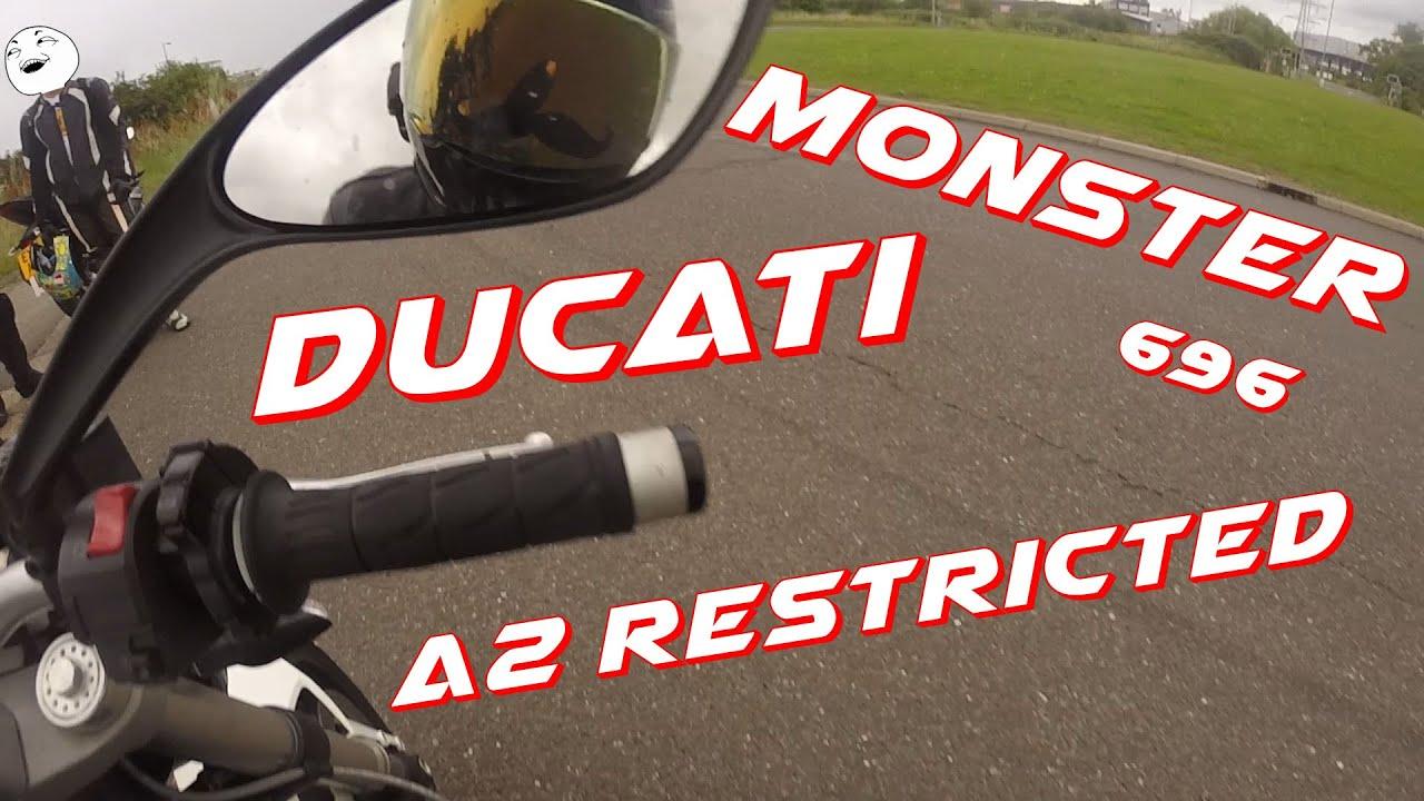 Ducati Monster 696 Test Ride
