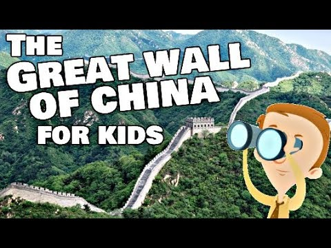 Great Wall Of China For Kids | Facts Video For Children