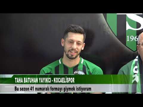 TAHA BATUHAN YAYIKCI - KOCAELİSPOR | tv41