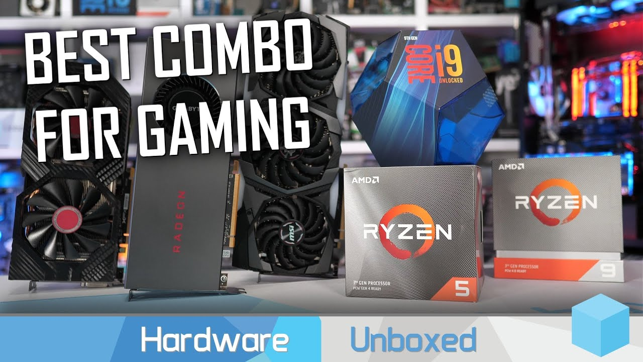 Ryzen 5 3600 vs  Ryzen 9 3900X vs  Core i9-9900K: GPU Scaling Benchmark