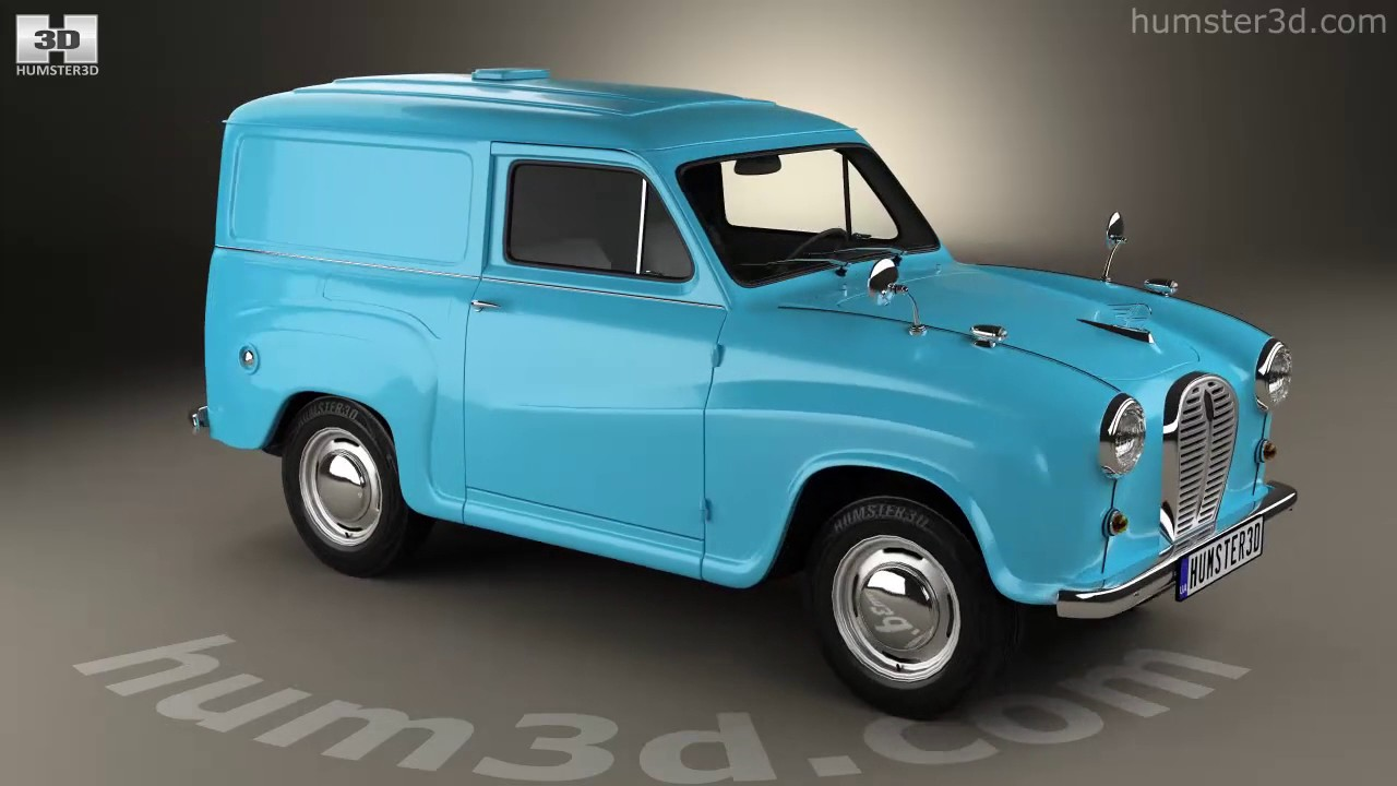 austin a35 van 1956 3d model by youtube. Black Bedroom Furniture Sets. Home Design Ideas