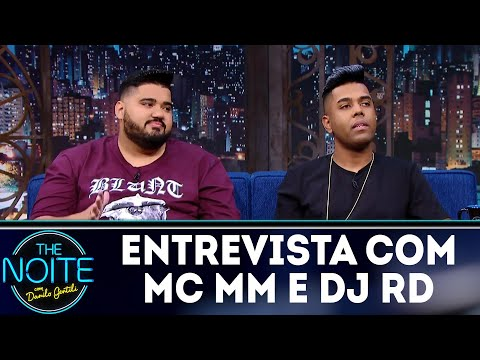 Entrevista com MC MM e DJ RD | The Noite (25/06/18)