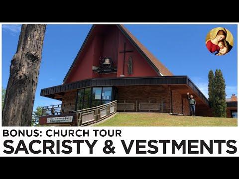 Church Tour Part 4: Sacristy & Vestments