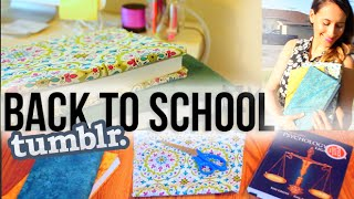 DIY Tumblr Inspired School Hacks (Book Covers) | itsLyndsayRae Thumbnail