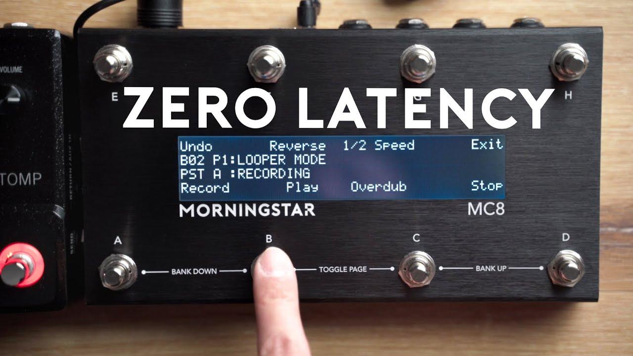 Looper Mode for Zero Latency MIDI Control
