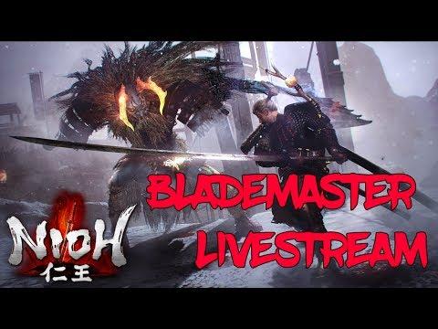 Nioh  New Build! The Blademaster is born!