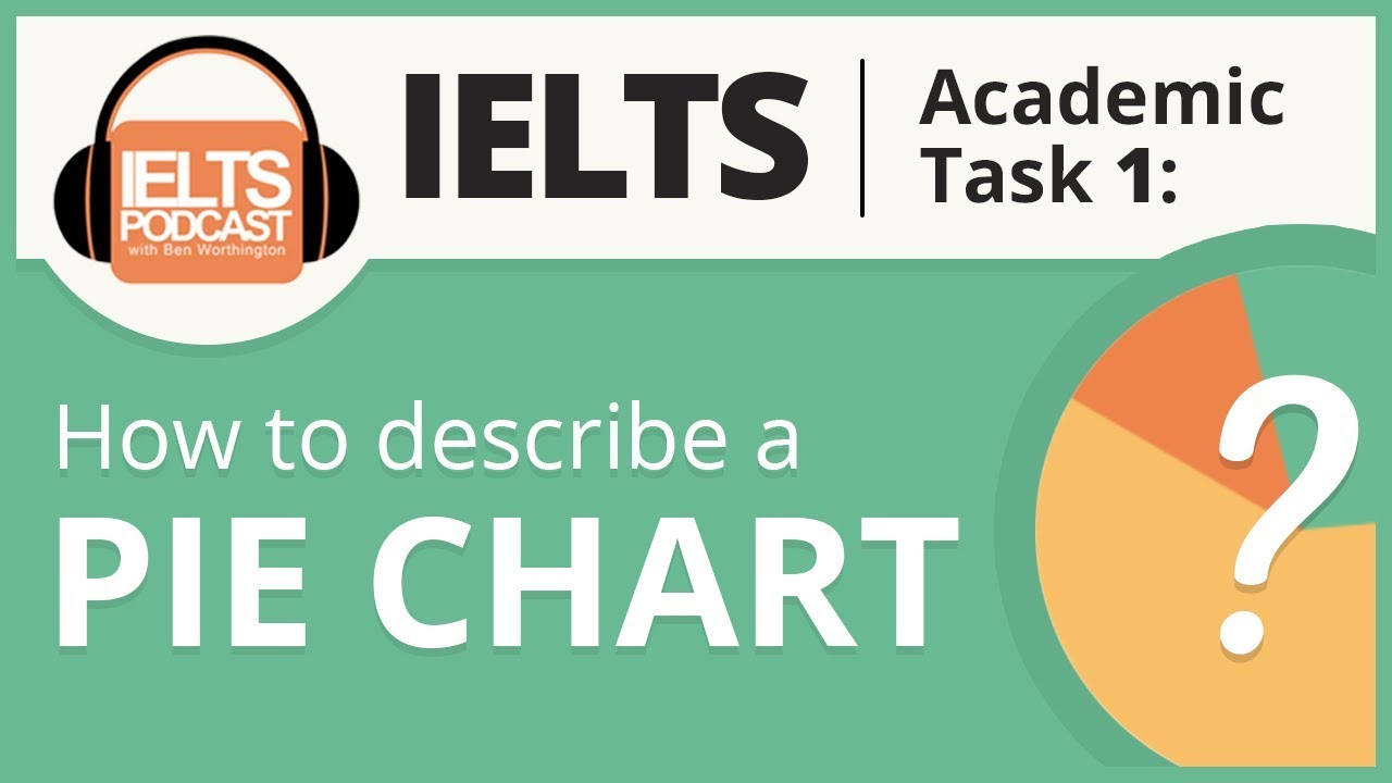 Ielts Academic Task 1 How To Describe A Pie Chart Youtube