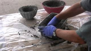 Making Hypertufa Pots Basic Program