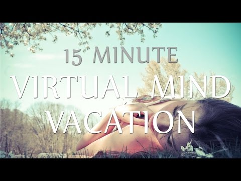 Hypnosis for Work Stress & Anxiety Relief - 15 Min Virtual Mind Vacation