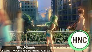 『Nightcore』→ The Middle (Zedd, Maren Morris, Grey)