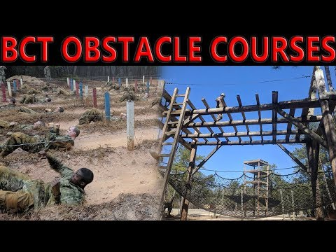 Army BCT Confidence and Obstacle Course
