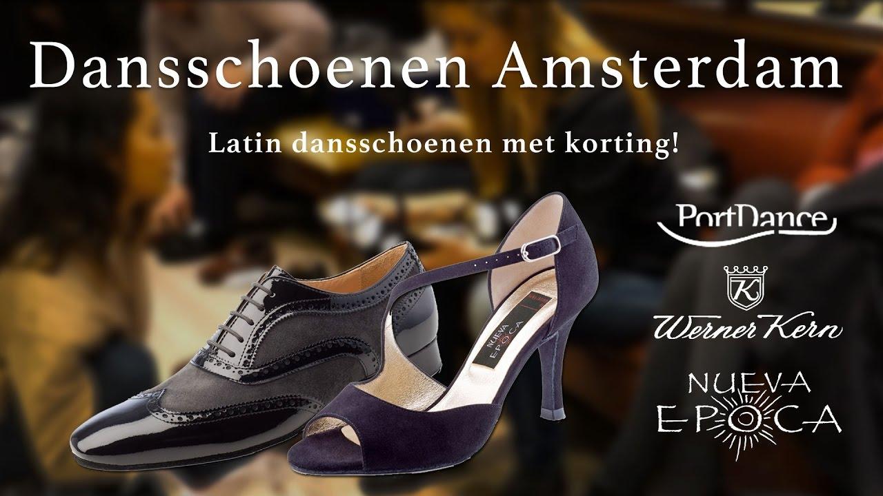 11579434182 Dansschoenen met korting | Salsanight Amsterdam - YouTube