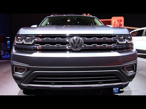 2018 Volkswagen Atlas SEL V6 4Motion - Exterior and Interior Walkaround - Debut at 2016 LA Auto Show