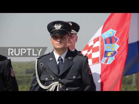 Croatia: 22nd anniversary of 'Operation Storm' marked at Knin Fortress