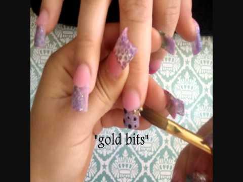 acrylic nails: Start to finish
