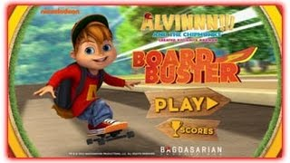 Alvin and the Chipmunks - ALVINNN!!! Board Buster - Nick Jr. Games - HD 2016