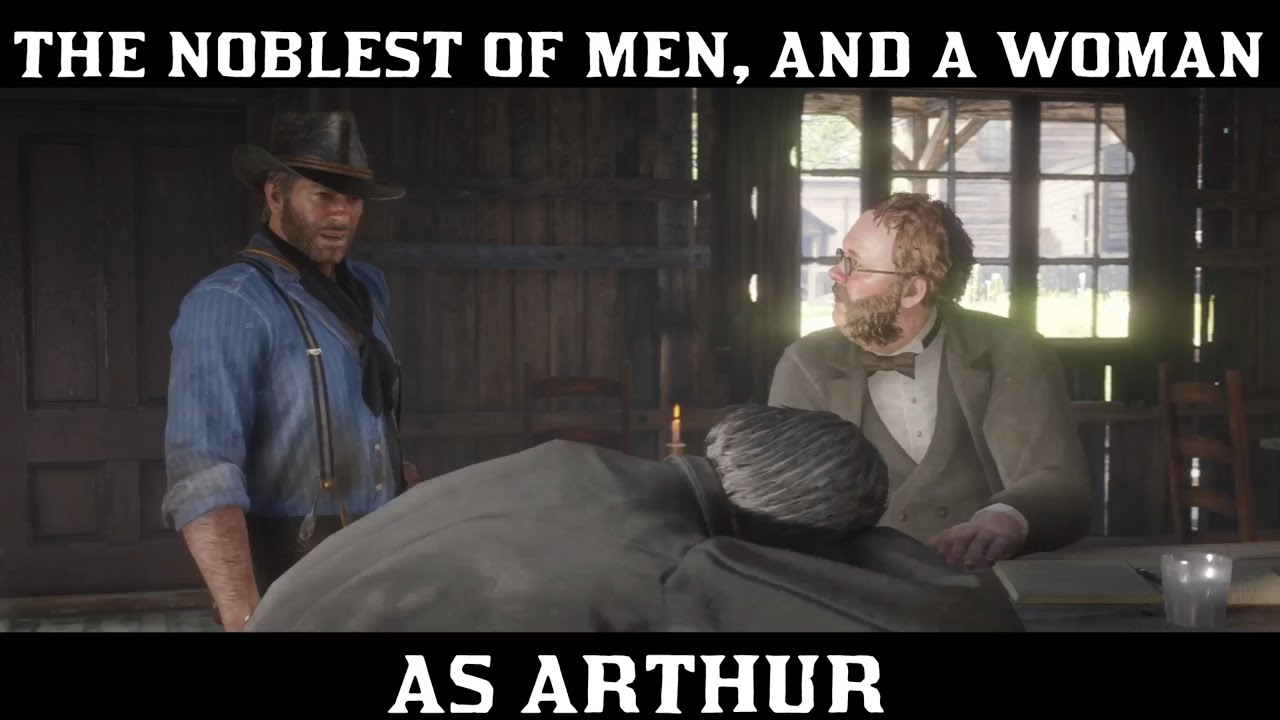Download Red Dead Redemption 2 Strangers - The Noblest Of Men, And A Woman (As Arthur)