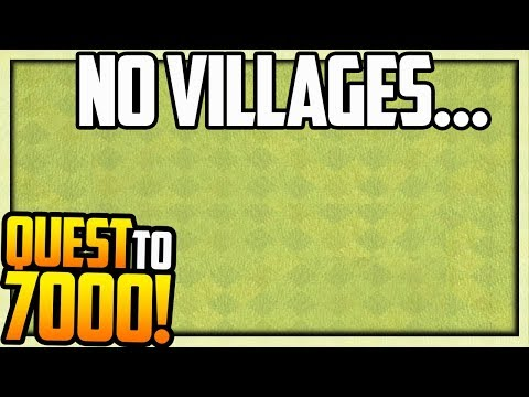NO VILLAGES in Clash of Clans? The Quest to 7000 Trophies #5