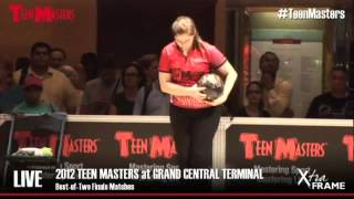 2012 Teen Masters Grand Championships:  Jessica Davies versus Ashley Dunn