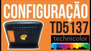 Technicolor TD5137 Configuração básica - Oi velox