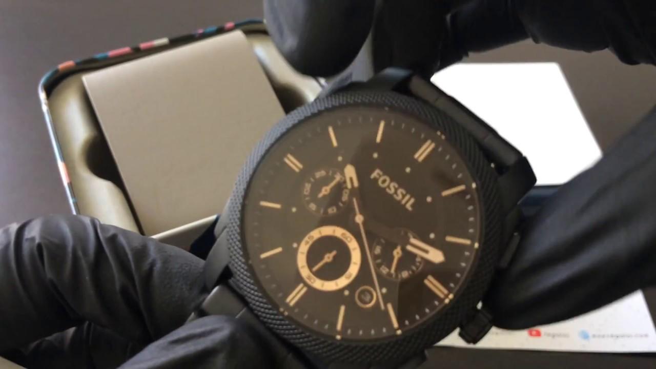 e19f3743443e Reloj FOSSIL FS4682 - UNBOXING FOSSIL Watch FS4682 (Regaloj) - YouTube
