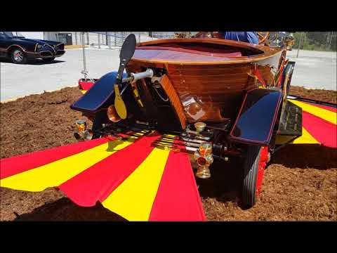 Watch: A restored - and real Chitty Chitty Bang Bang film car - now calls Jacksonville home