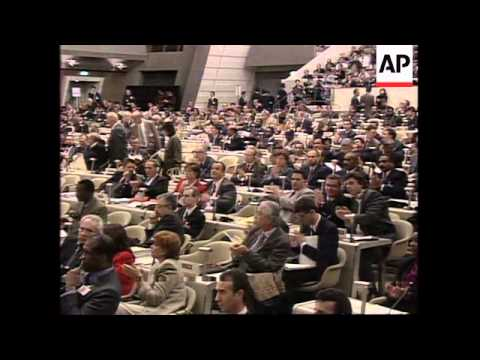 JAPAN: KYOTO: COP3 CLIMATE CHANGE CONVENTION OPENS