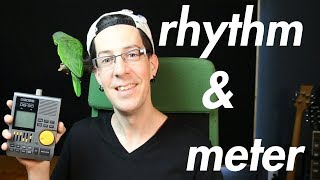 THEORY in the DAW 2 - What are RHYTHM and METER and How can YOU manipulate them?