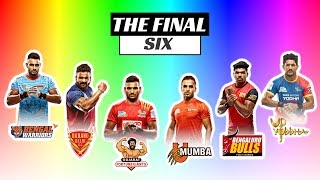 Pro Kabaddi 2018 | Top 6 teams qualified for Playoffs | Playoffs Schedule explained