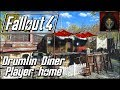 Fallout 4 | DRUMLIN DINER - Player Home [A workbench Anywhere Settlement]