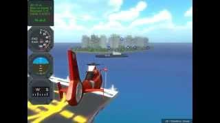 Полет на вертолете, детские игры, flying on helicopter