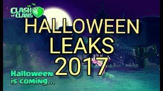 Clash Of Clans Halloween 2017 update leaks | upcoming update 31 october 2017