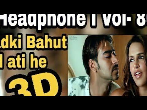 3D Song II Woh Ladki Bahut Yaad Aati Hai - Qayamat (2003) I Headphone Use