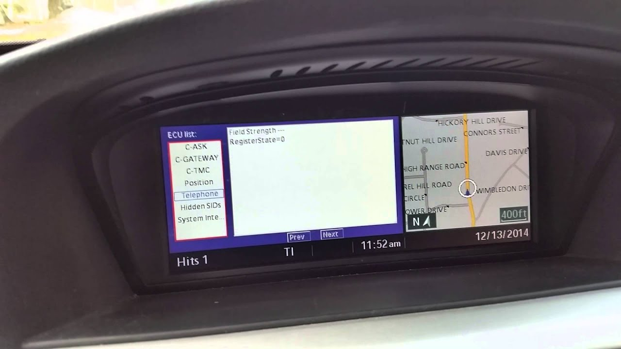 E90 Ccc Idrive Secret Menu Youtube