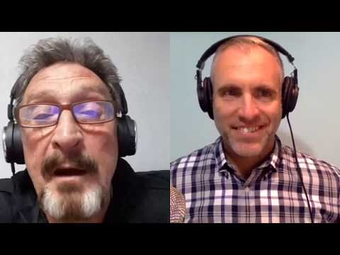 John McAfee On XMR & His Take On Which Cryptocurrency Is Currently The Best Version Of Digital Cash!
