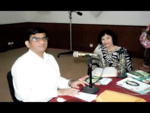 Shagufta Shafiq Interview by Mr. Ali Hassan Sajid on Radio Karachi FM 93 - 22-5-2013