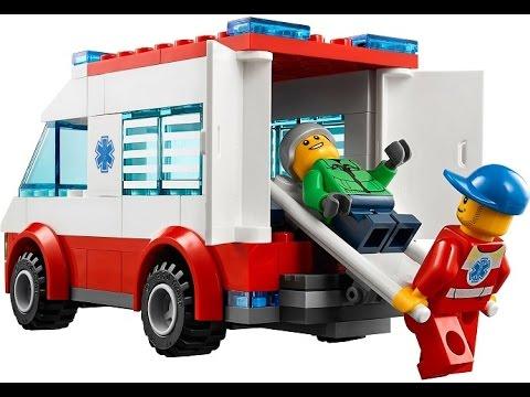 Lego City Ambulancia Coches Juguetes Para Ninos Youtube
