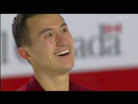 Patrick Chan 2018 Canadian Tire National Skating Championships - FS & interview